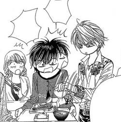 Sho picks breakfast for Kyoko