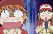 Kyoko shocked; miya fangril