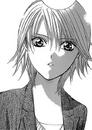 Kyoko looks suprised at chiori