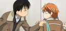 Ren stopping kyoko first
