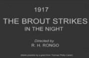The Brout Strikes in the Night