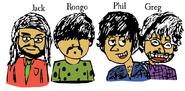 Jack, Rongo, Phil and Greg