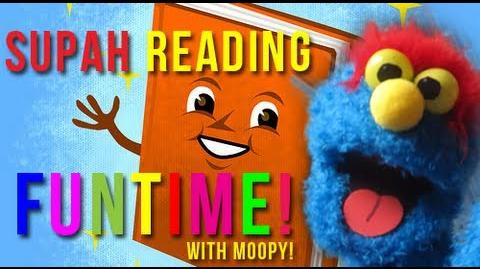 READING FUNTIME WITH MOOPY!