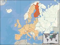 Finnlandkort