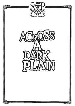 Across a dark plain cover