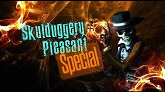 Skulduggery Pleasant Theatre of Shadows Special