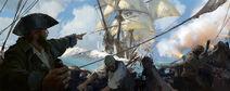 SB Naval battle art