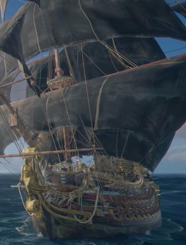 File:Skull and Bones - Royal Fortune Frigate ship.png
