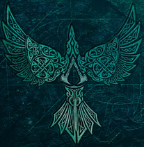 Assassin's Creed Valhalla bird emblem