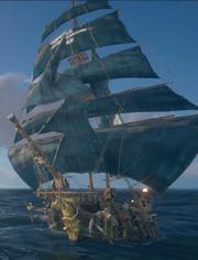 Skull and Bones - Jaeger ship