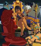Filia y Ms. Fortune capturadas por Eliza