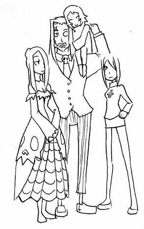 Arte Conceptual Familia de Parasoul