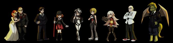 Carpa Personajes No Jugables Conjunto 1