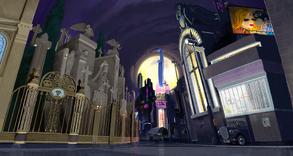 Calles de New Meridian (Escenario ID)