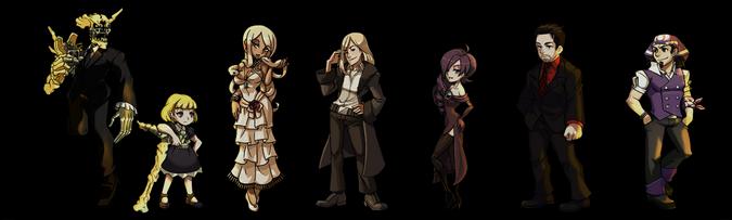 Carpa Personajes No Jugables Conjunto 5