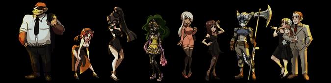 Carpa Personajes No Jugables Conjunto 3