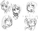 Emociones y caras de Filia 6 Arte Promocional