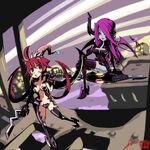 Filia y Parasoul parodia Witchblade Arte Conceptual