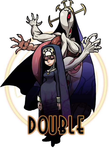 image double png skullgirls wiki fandom powered by wikia