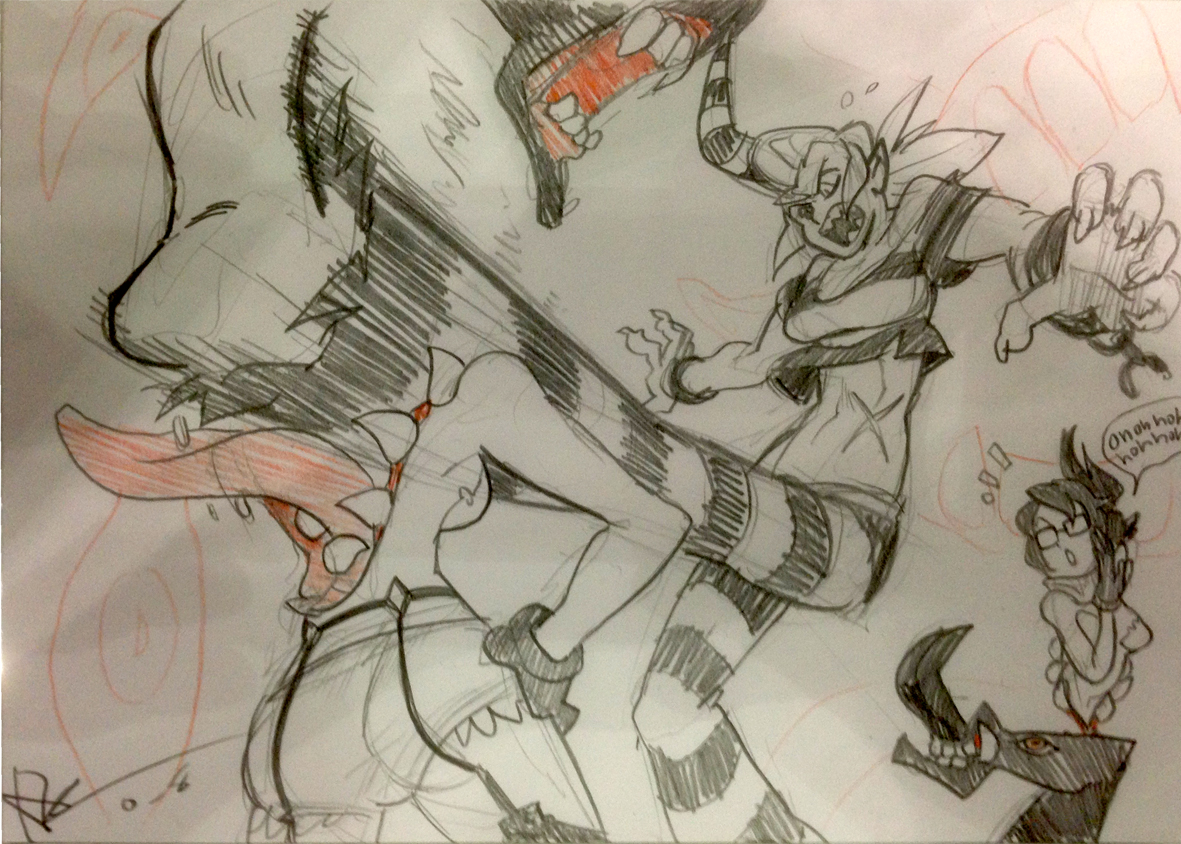 Line Drawing Wiki : Image scythana vs venus g skullgirls wiki fandom powered