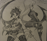 Filia and Parasoul