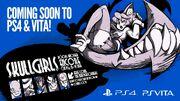 Skullgirls to PS4 and Vita