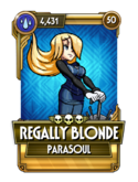 Regally Blonde