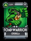 Toad Warrior