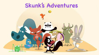Skunk's Adventures Logo