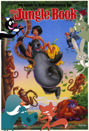 Skunk s adventures in the jungle book poster by uranimated18-d987iwy