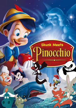 Skunk Meets Pinocchio Poster
