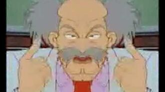 Dr. Wily is a Filthy Old Man