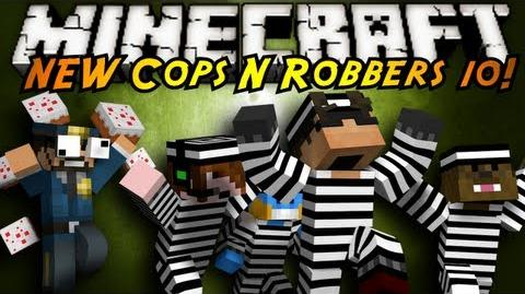 Minecraft Mini-Game THE NEW COPS N ROBBERS ROUND 10!