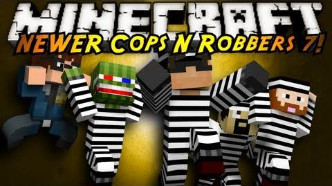 Minecraft Mini-Game COPS N ROBBERS 3.0 ROUND SEVEN!