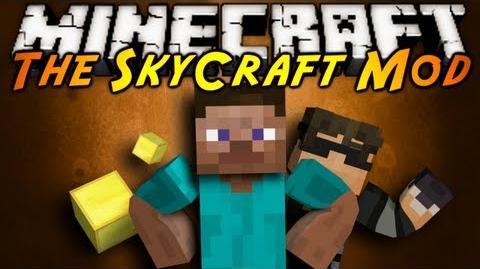 Minecraft Mod Showcase SKYCRAFT!