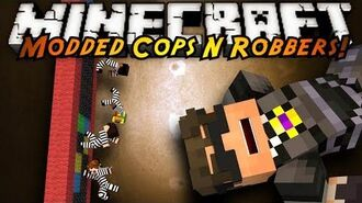 Minecraft Mini-Game MODDED COPS N ROBBERS! ANTI GRAVITY!