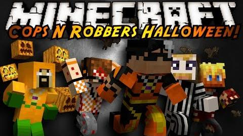 Minecraft Mini-Game COPS N ROBBERS! (HALLOWEEN SPECIAL!)