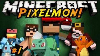Minecraft Pixelmon Episode 1!