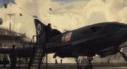 Amphibious fighter plane