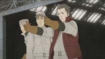 Sasakura all go ground crew