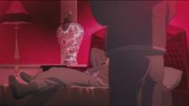 Teacher in bed