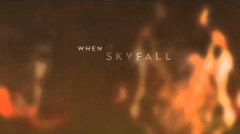 Adele - Skyfall (Lyric Video)