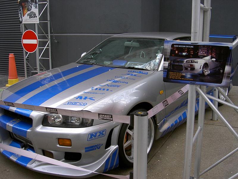 Nissan Skyline GT R R34 (2F2F)