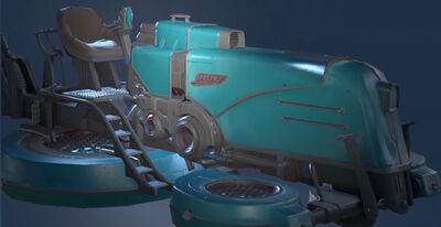 Skyforge gravicycle