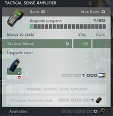Tactical Sense Amplifier