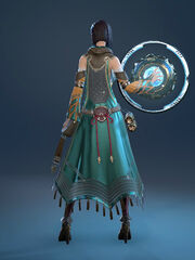 Enchanter robe back
