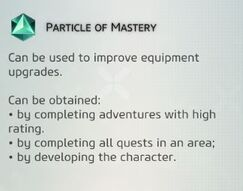 Particle of Mastery