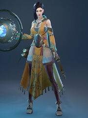 Enchanter robe front