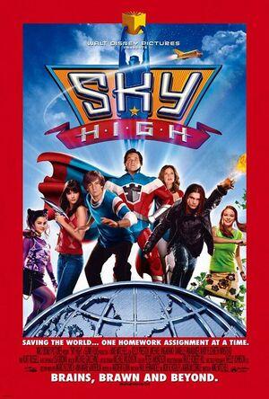 Sky High Movie Poster