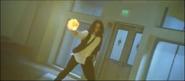 Warren throwing a fireball